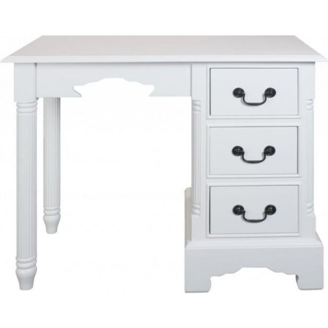 Grosvenor Shabby Chic Pedestal Desk