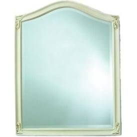 Guildford Ivory Antique French Style Mirror