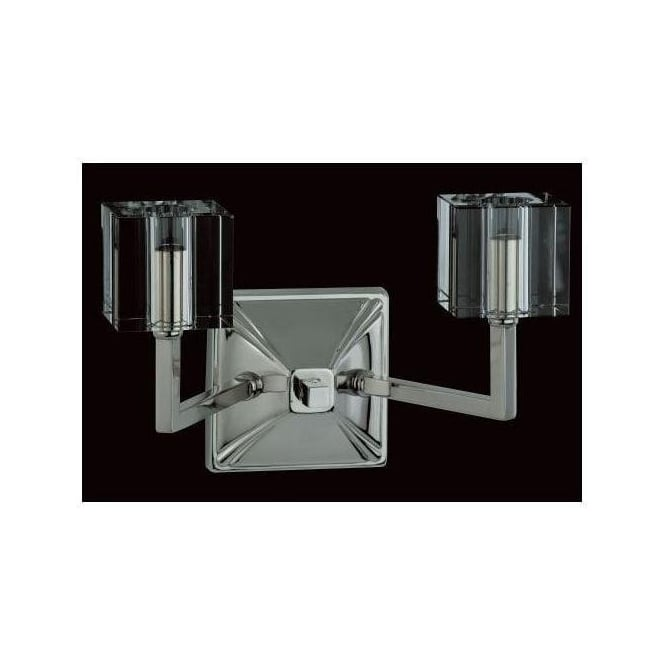 Halogen Nickel Wall Light 2