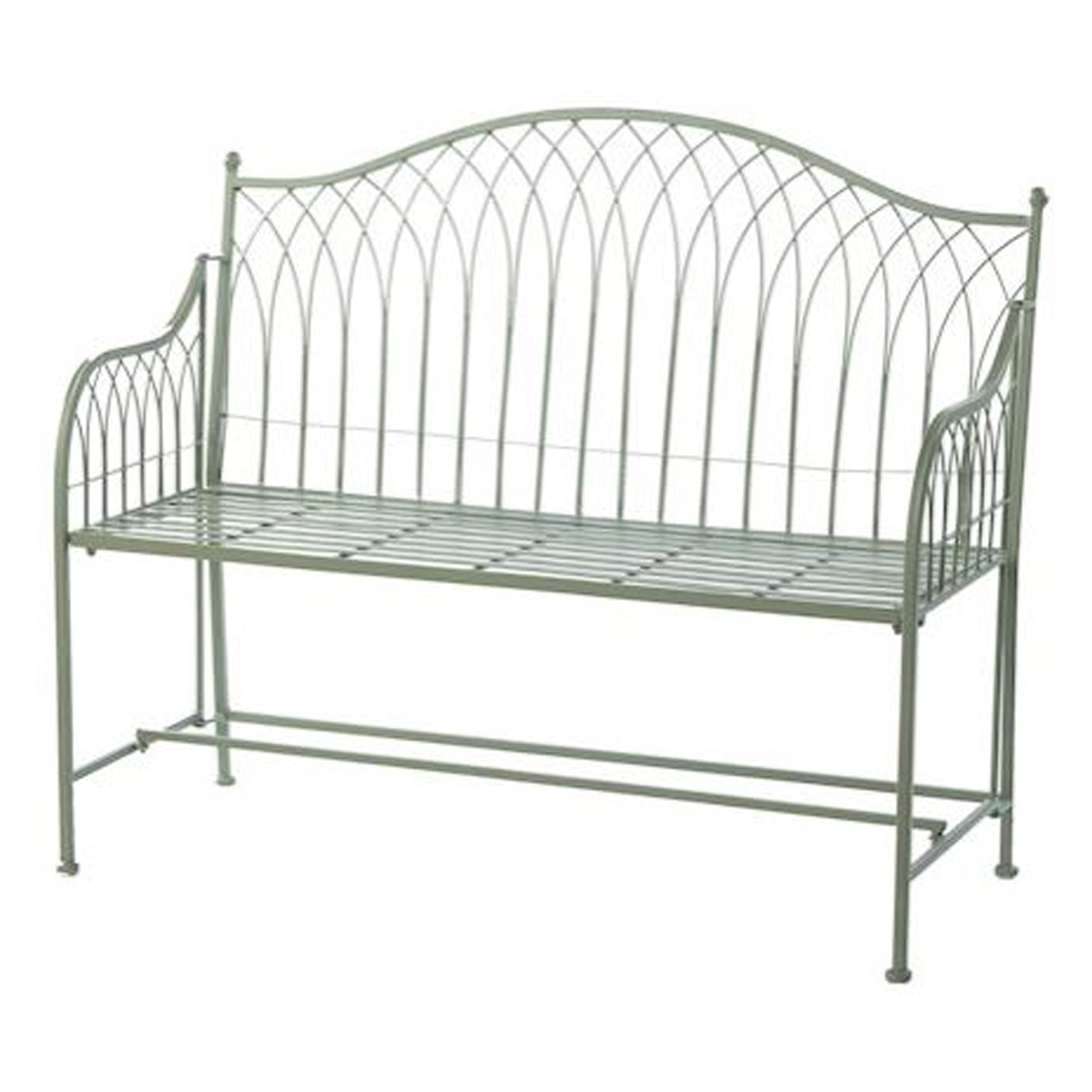 Hampton Shabby Chic Outdoor Bench Outdoors Homesdirect365