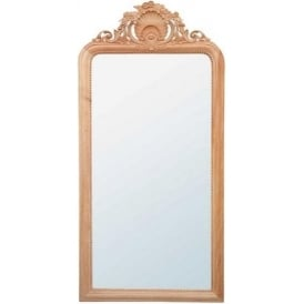 Handcarved Antique French Style Mirror