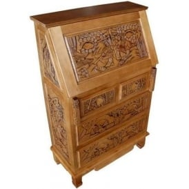 Handcarved Writing Bureau