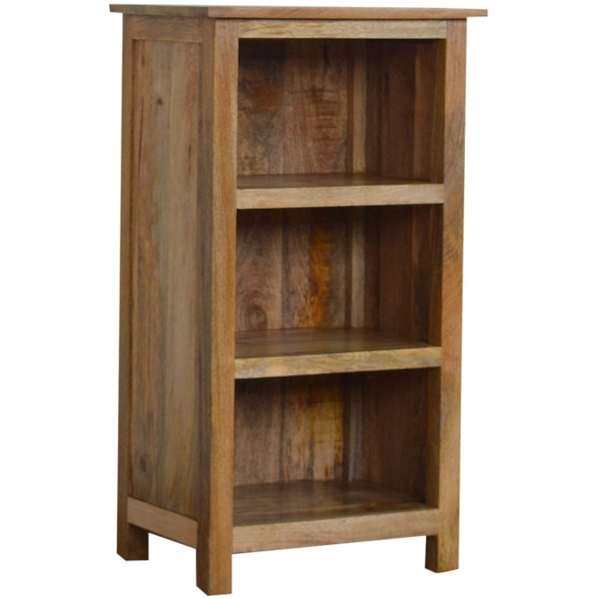 Handmade Mango 3 Shelf Bookcase