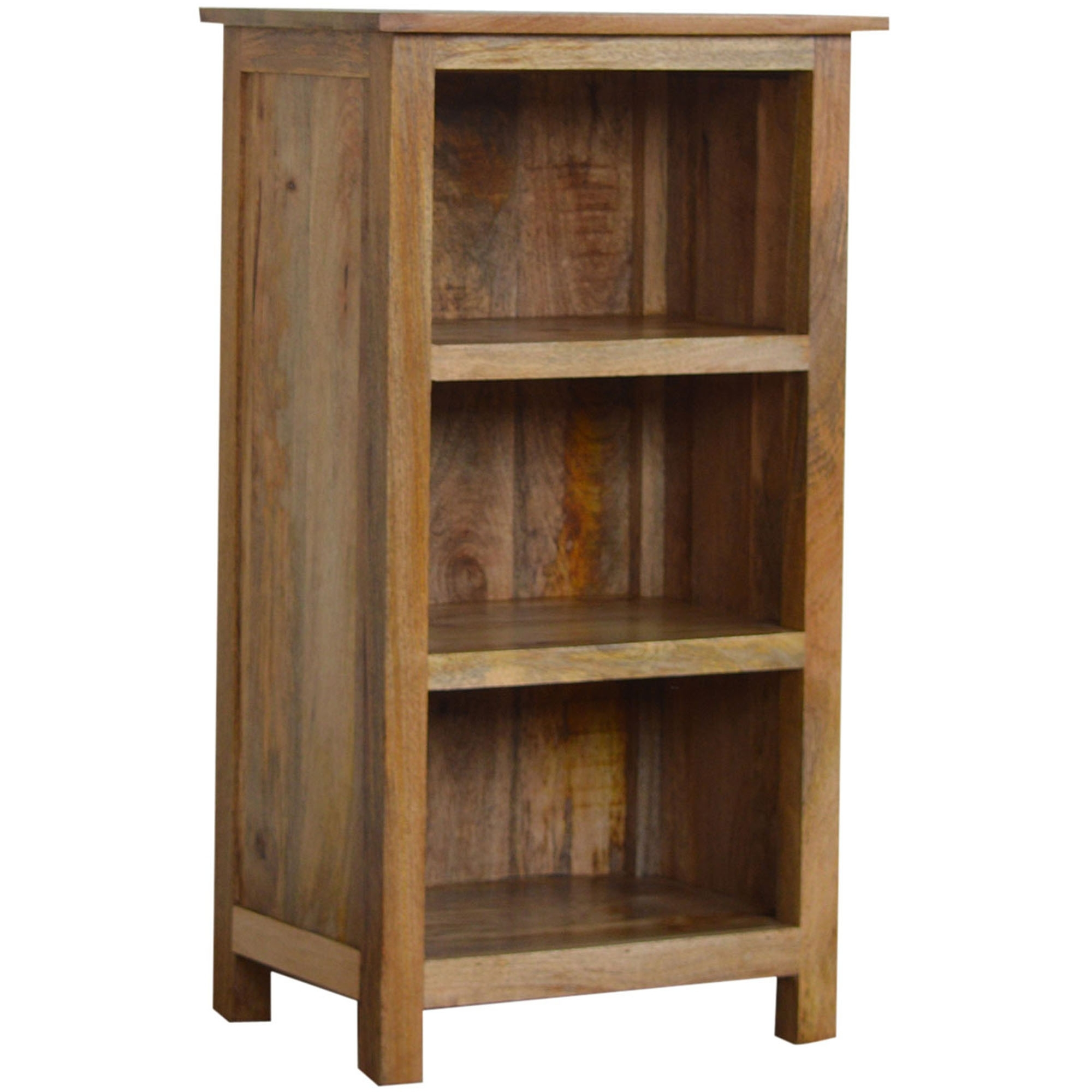 Handmade Mango 3 Shelf Bookcase