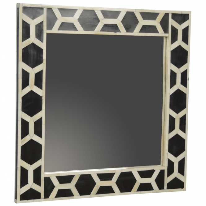 Handmade Mango Mother of Pearl Mirror