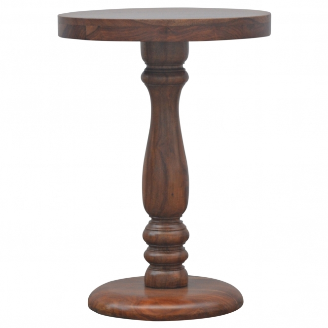 Handmade Rosewood Round Wine Table