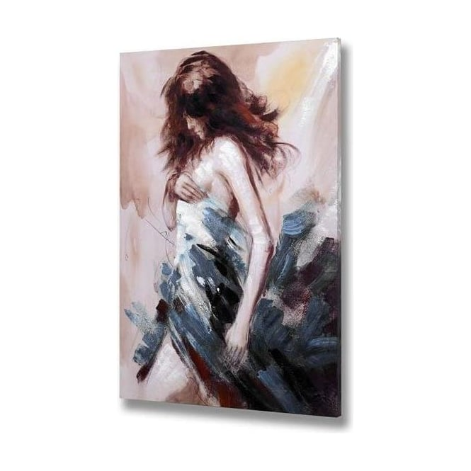 Handpainted Woman Canvas