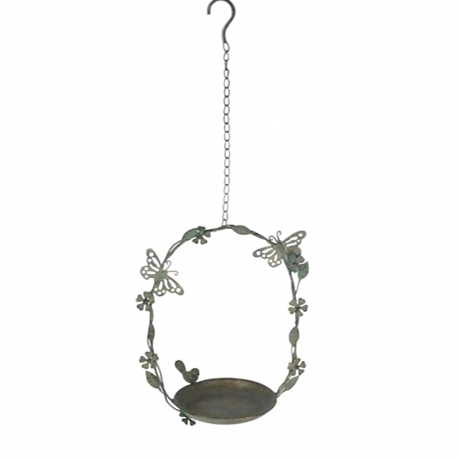 Hanging Butterfly Bird Dish