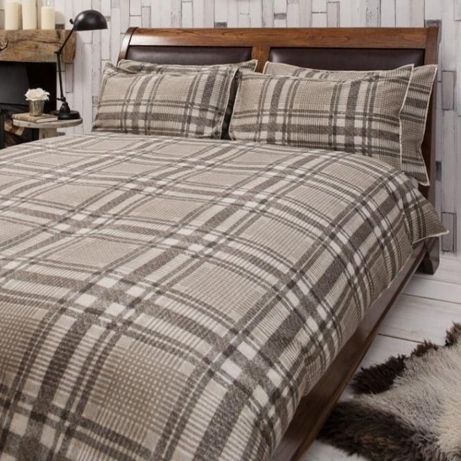 Harris Natural Quilt Cover Set