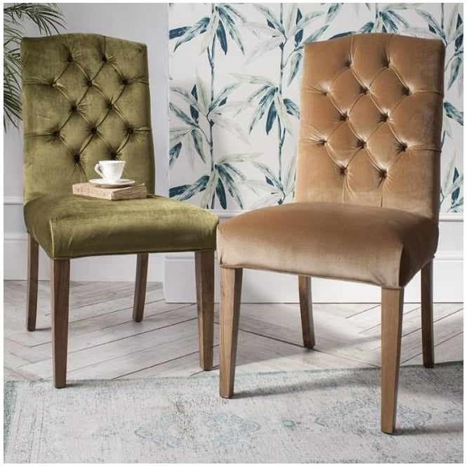 Hayden Velvet Chair