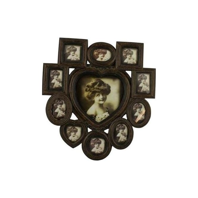 Heart Multi Picture Photo Frame