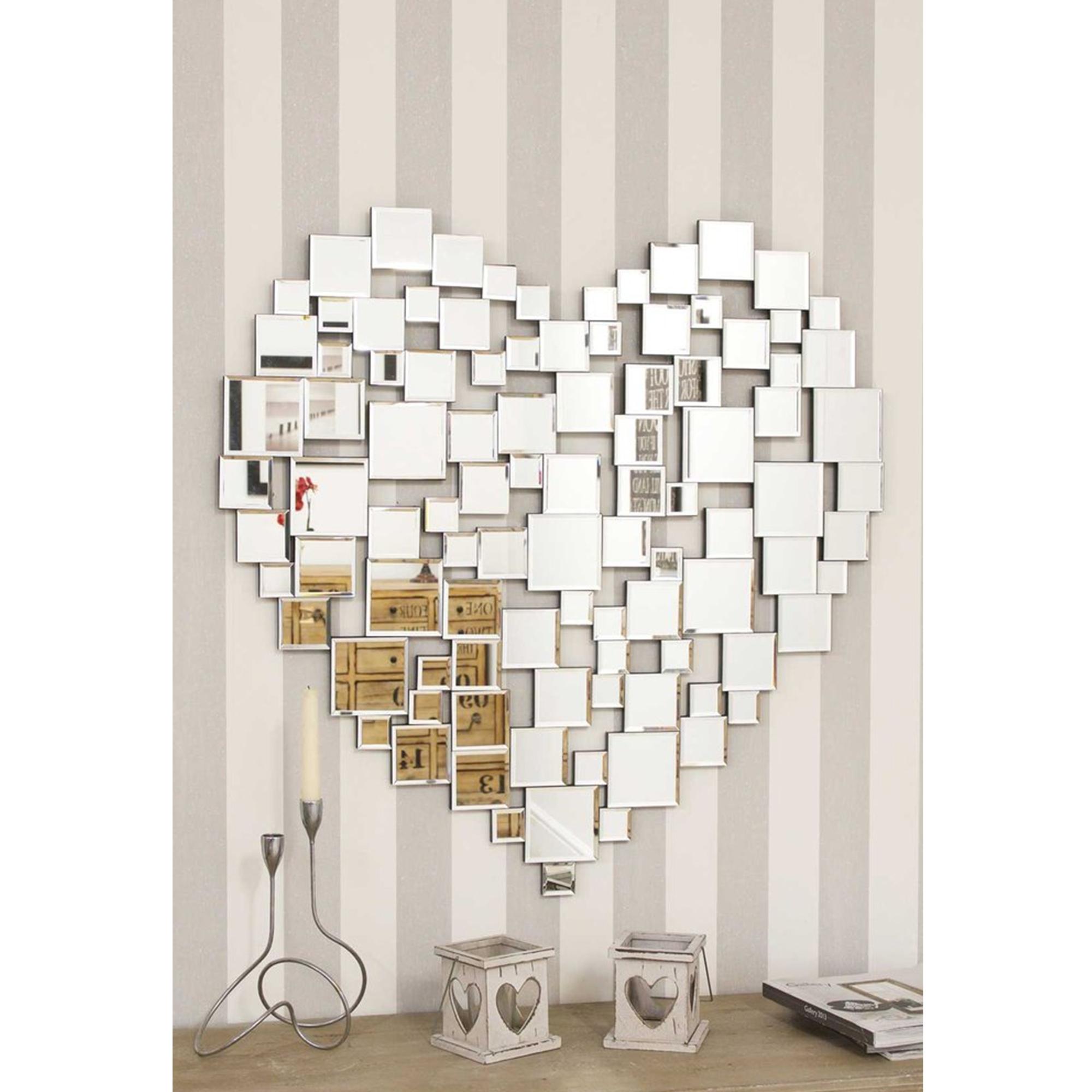 Heart Shape Venetian Wall Mirror Glass Mirrors Online