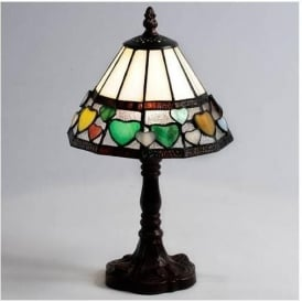 Hearts Tiffany Lamp (Small)
