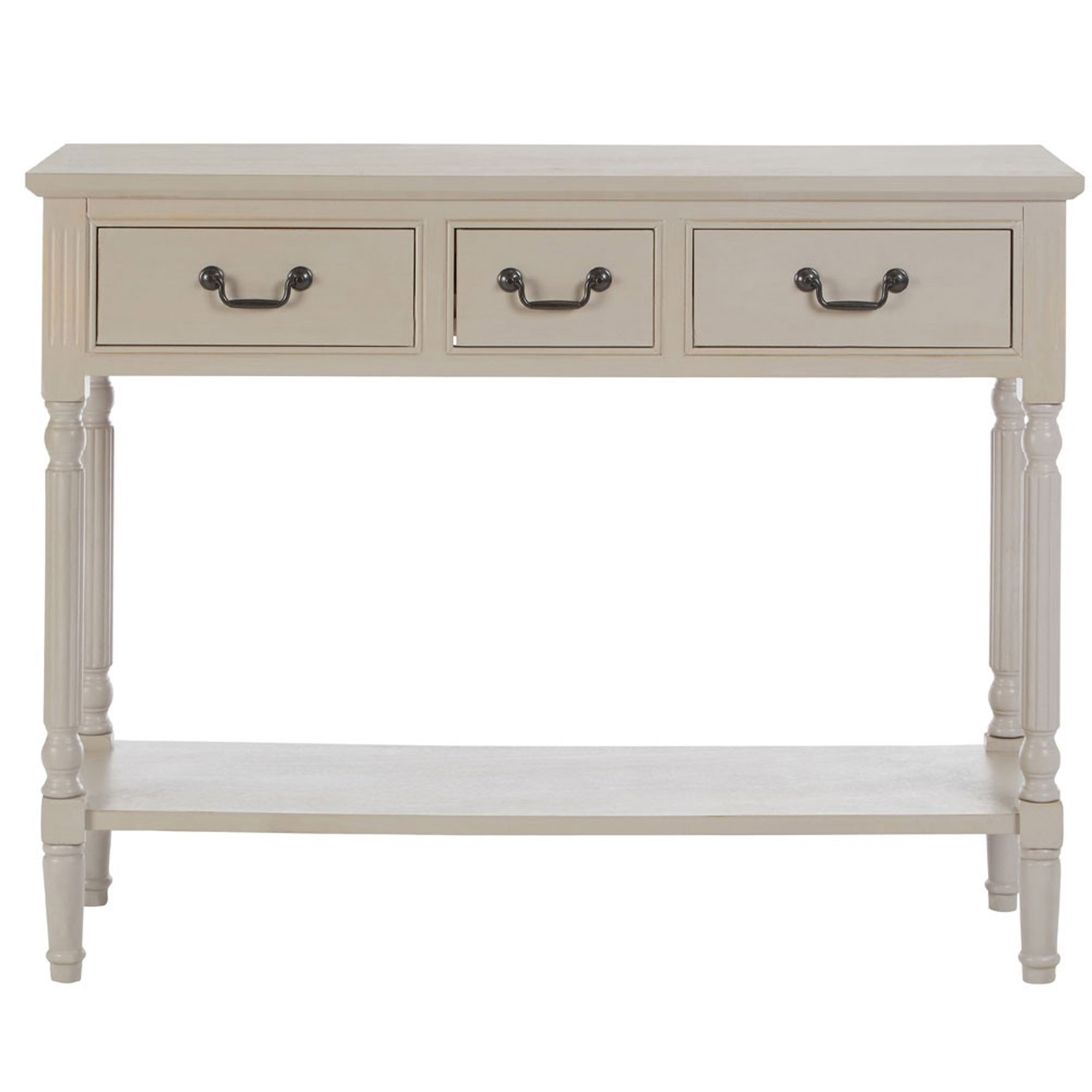 Heritage 3 Drawer Console Table Modern Contemporary Furniture