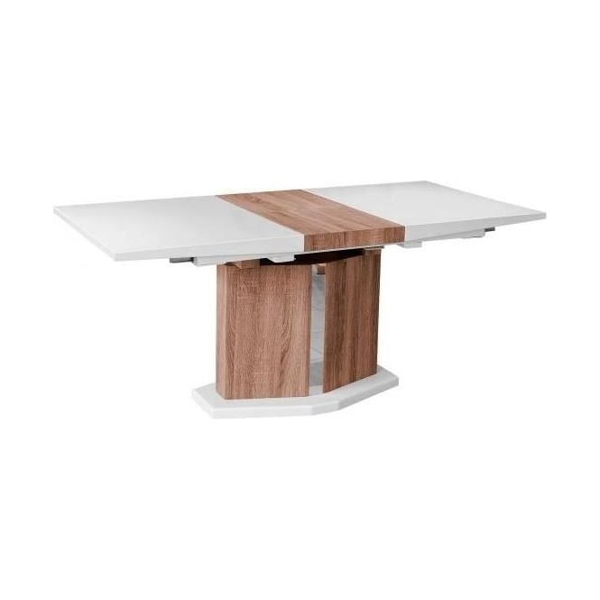 High-gloss Extending Dining Table