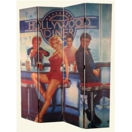 Hollywood Diner Screen