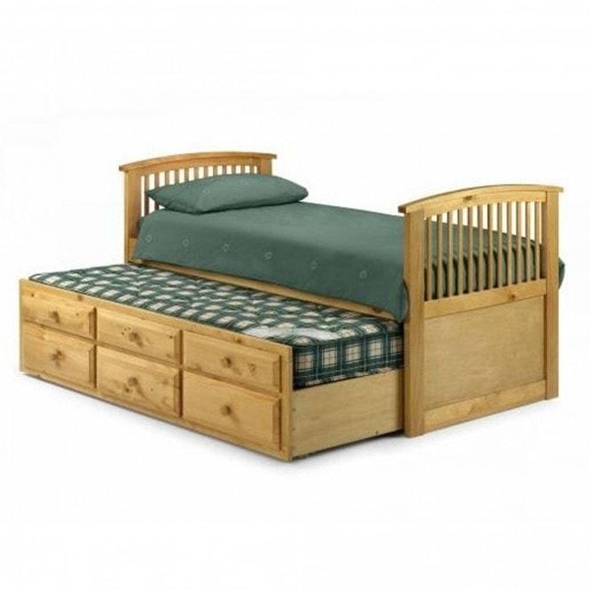 Hornblower Bed Antique Pine