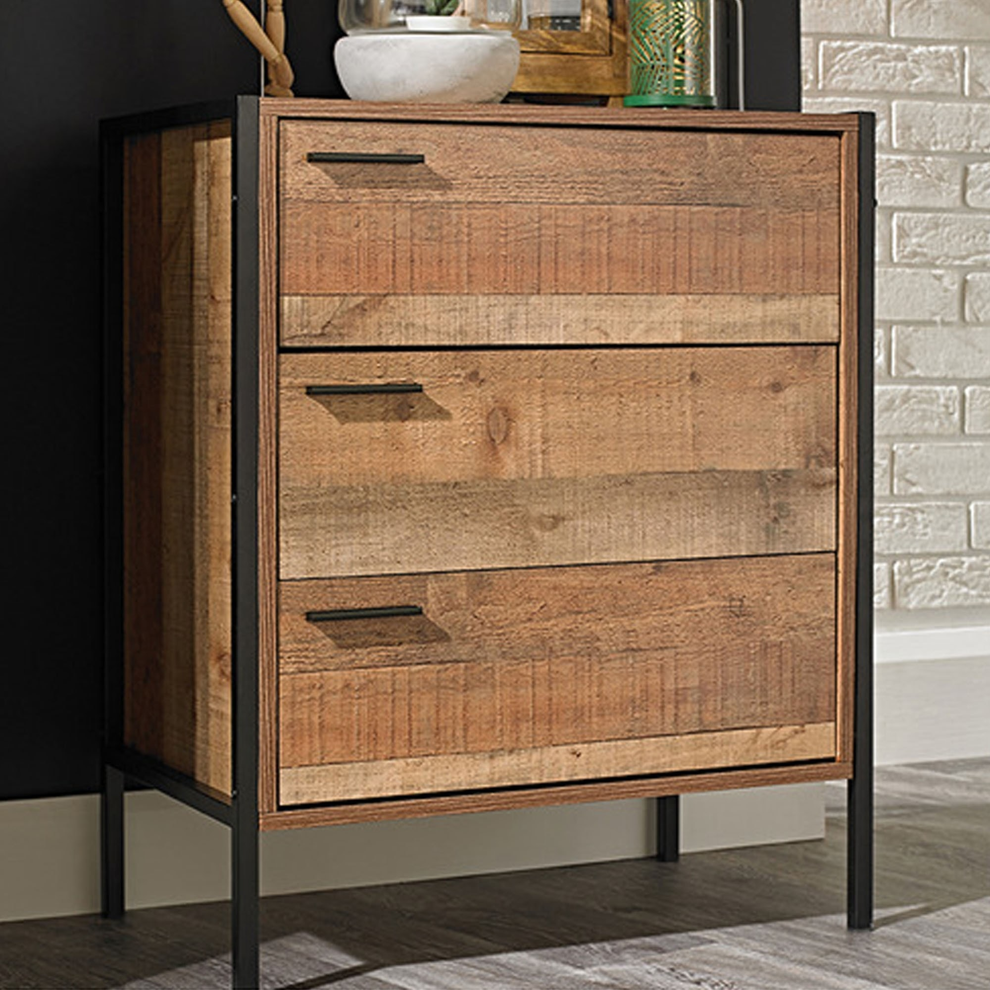 Hoxton 3 Drawer Chest Wooden Chest Of Drawers