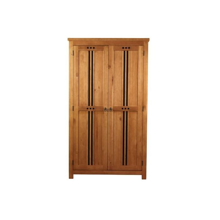 Hudson Oak 2 Door Wardrobe