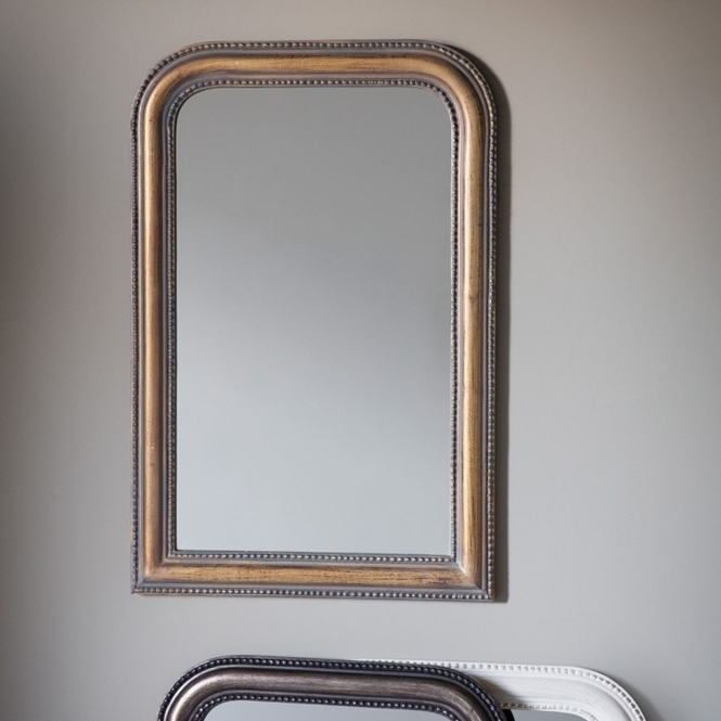 Hyde Antique Gold Wall Mirror
