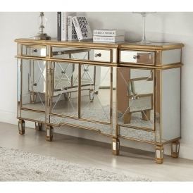 Imperial Mirrored Sideboard