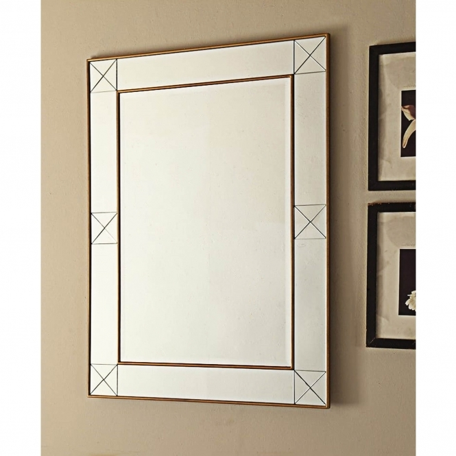Imperial Mirrored Wall Mirror