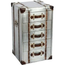 Industrial Aluminium Chest of Drawers