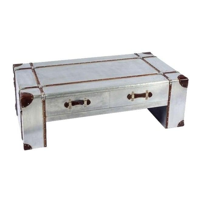 Industrial Aluminium Coffee Table