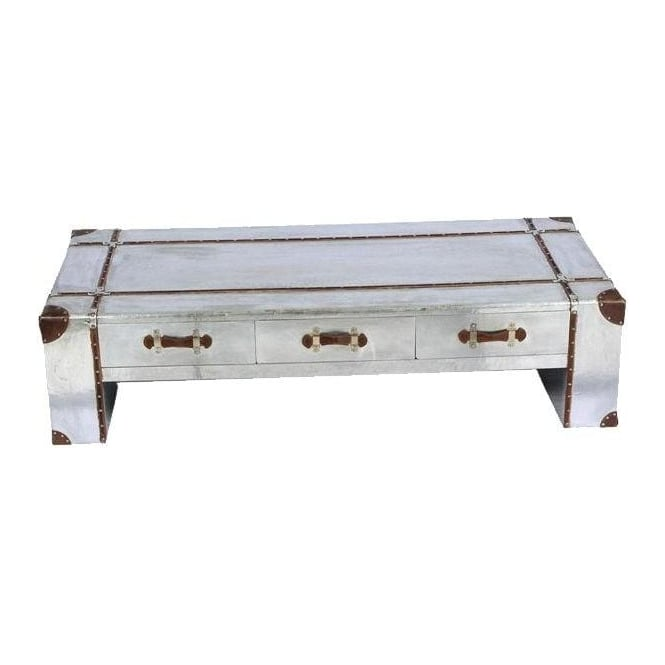 Industrial Aluminium Coffee Table