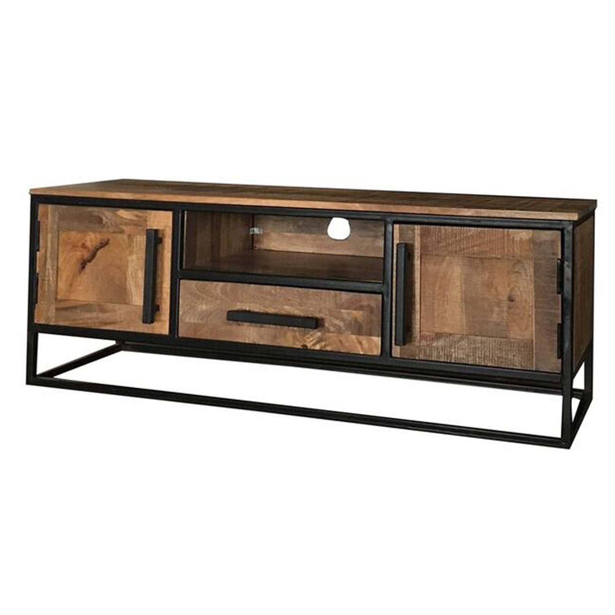 Cool Industrial Low Tv Unit Machost Co Dining Chair Design Ideas Machostcouk
