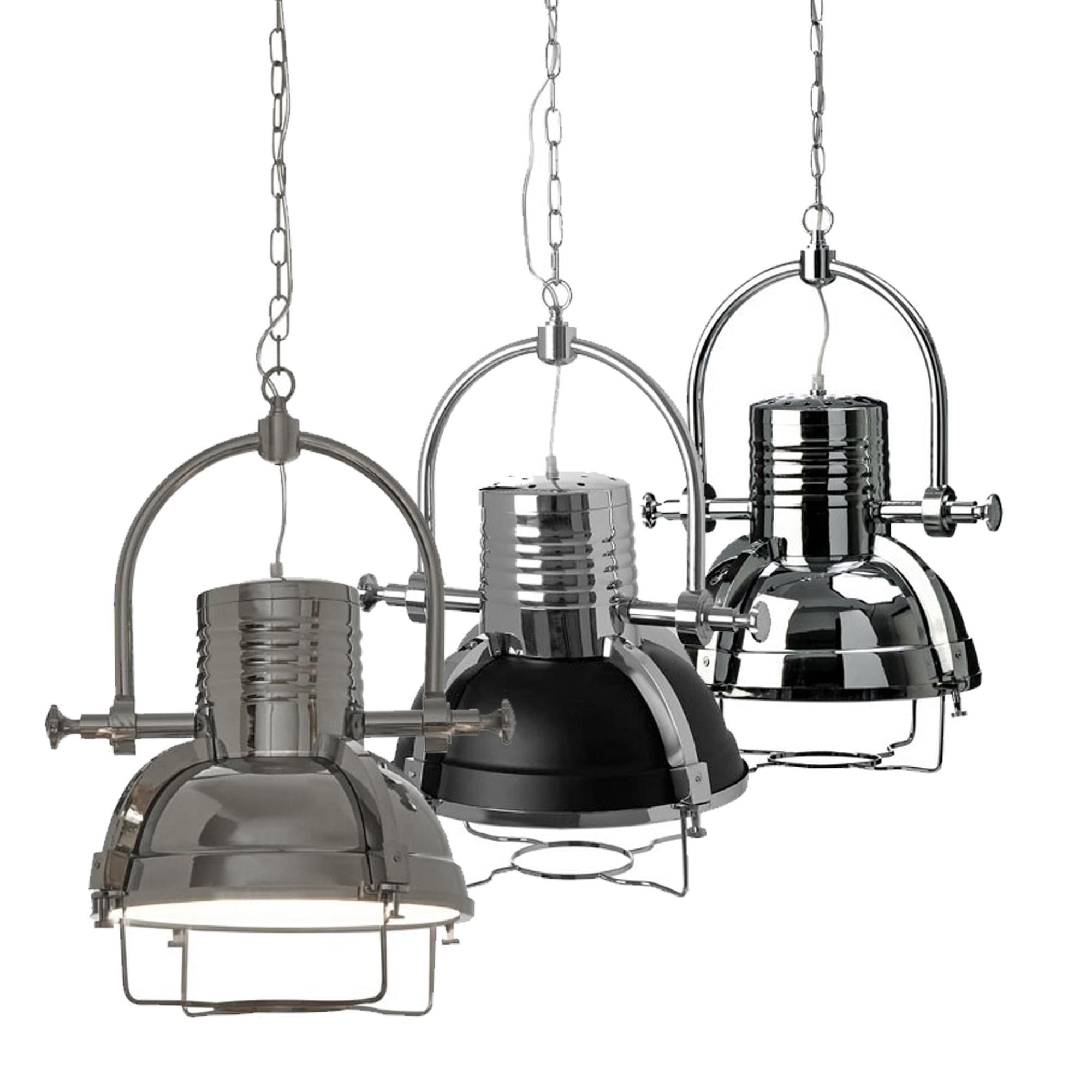 Uk Light Industrial Portfolio: Industrial Revolution Pendant Light