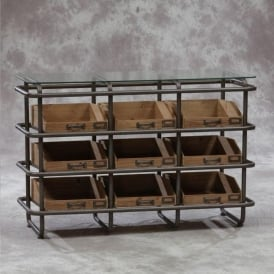 Industrial Wide Shelf Unit