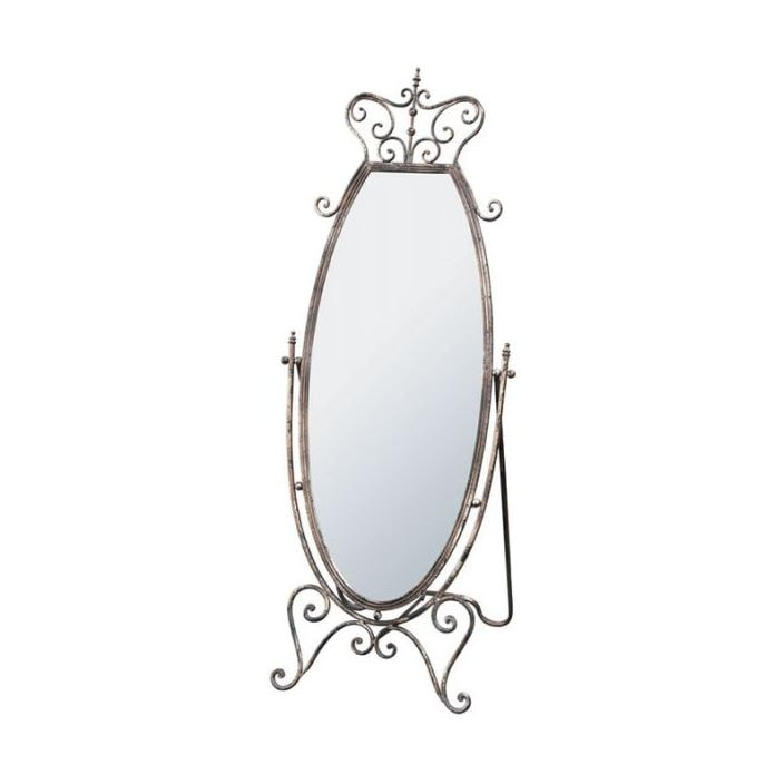 Iron Antique French Cheval Mirror Is A Must Have Addition