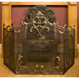Iron Antique French Style Firescreen