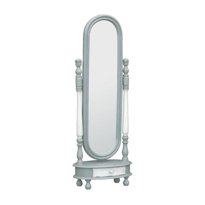 IsaBella Blush Shabby Chic Cheval Mirror