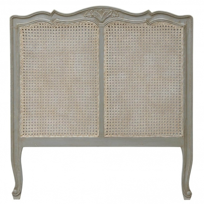 Isabella Dusk Grey Antique French Style Headboard