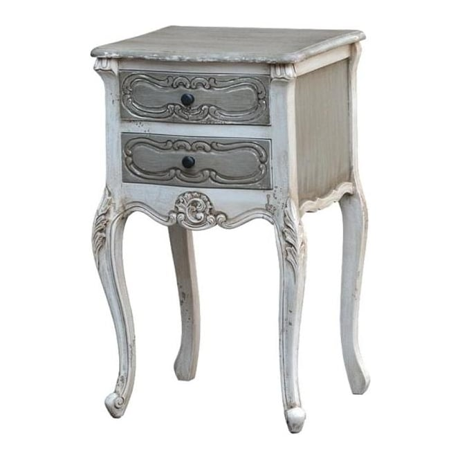 IsaBella Dusk Shabby Chic Bedside Table