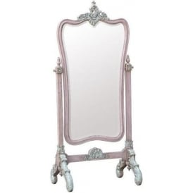 IsaBella Shabby Chic Cheval Mirror