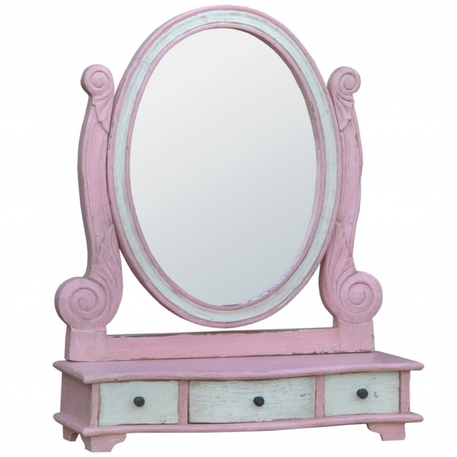 Isabella Shabby Chic Dressing Table Mirror