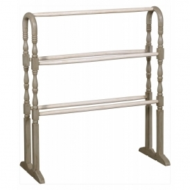 Isabella Shabby Chic Free Standing Towel Rail
