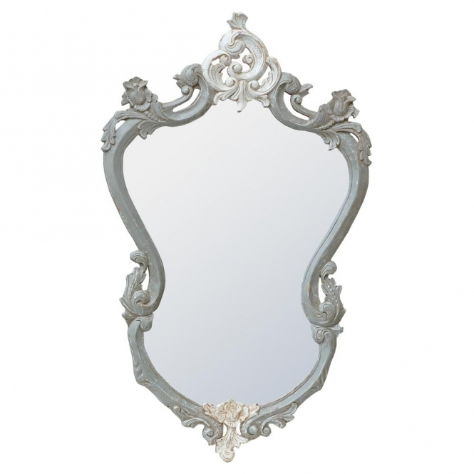 IsaBella Shabby Chic Wall Mirror