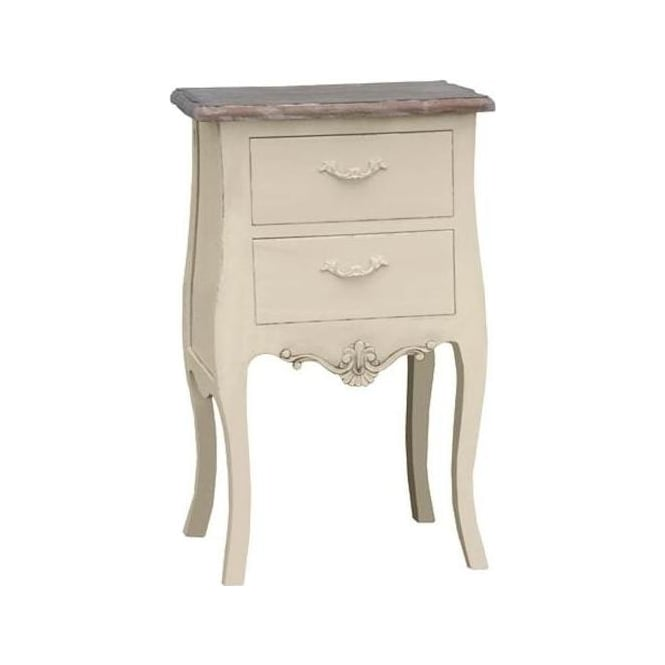 Ivory Antique French Style Bedside