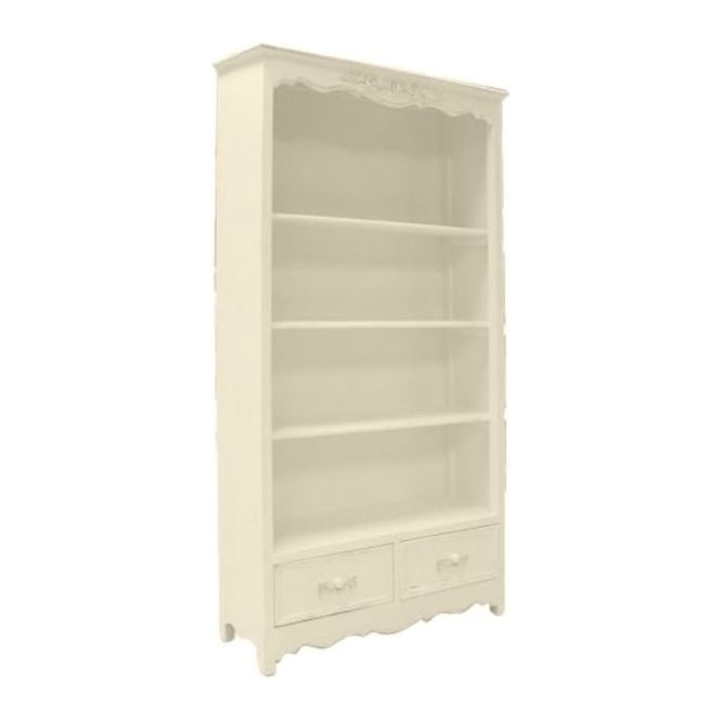 Ivory Antique French Style Bookshelf