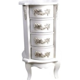 Ivory Antique French Style Chest