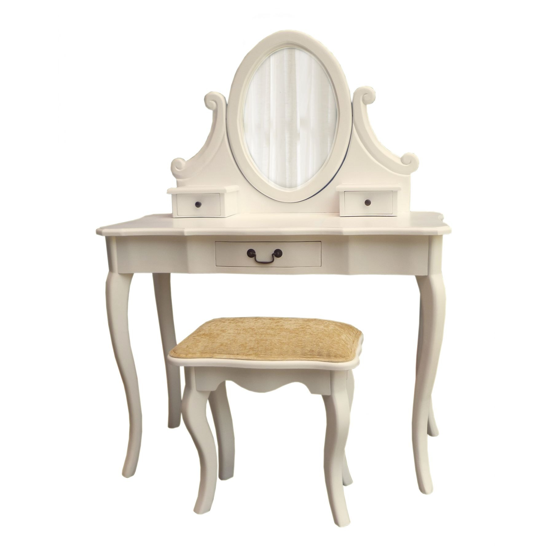 Antique French Ivory Dressing Table Set
