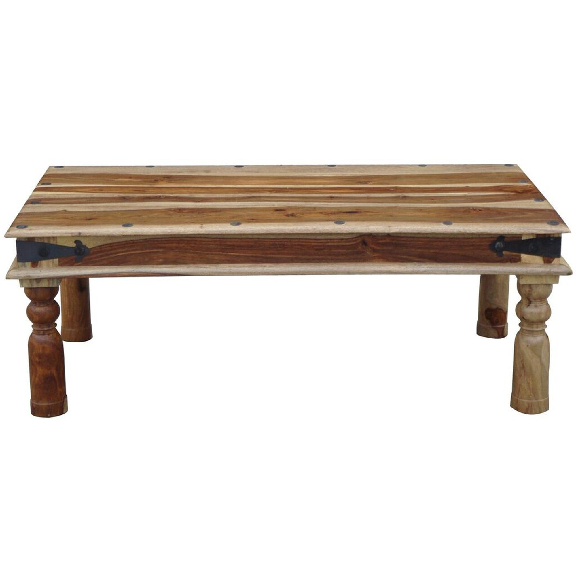 Jali Large Coffee Table Wooden Coffee Tables Indian Furniture