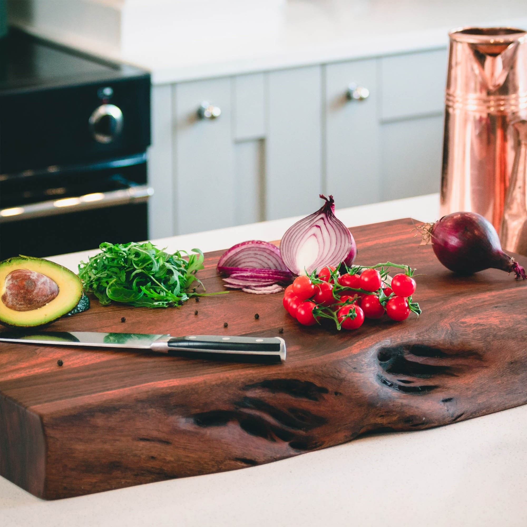 James Martin Style Chopping Board Natural Wood Kitchen Board