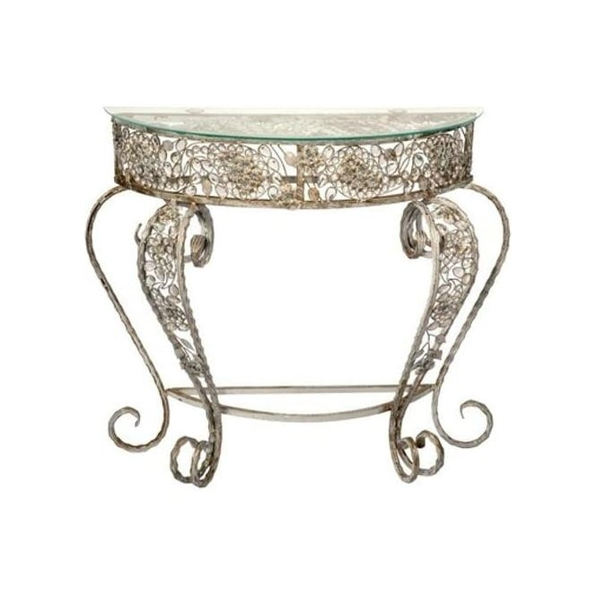 Jewelled Antique French Style Table