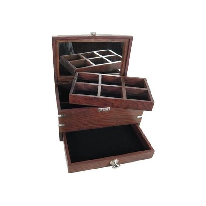 Jewellery Box With Drawer Mirror French Furniture From Homesdirect 365 Uk