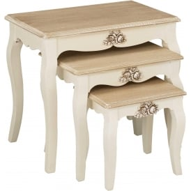 Juliette Shabby Chic Nest Of Tables